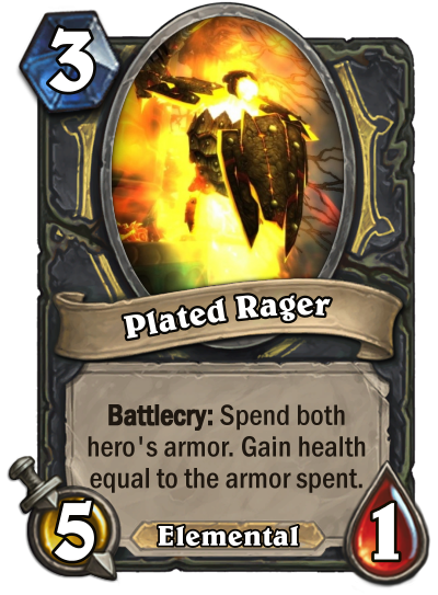 Plated Rager