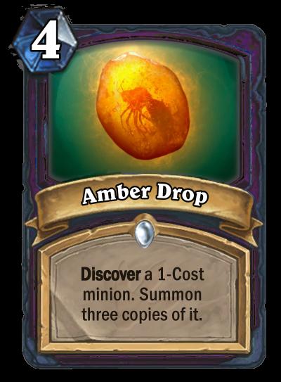Amber Drop