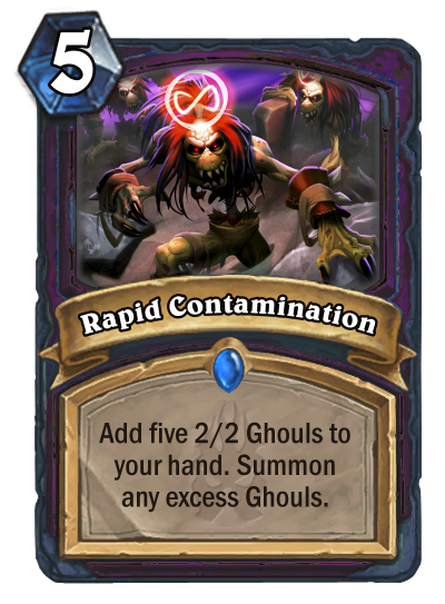 Rapid Contamination