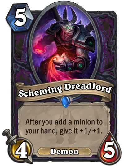 Scheming Dreadlord