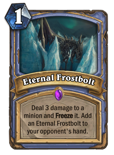 Eternal Frostbolt