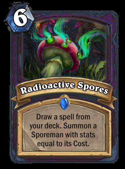 Radioactive Spores