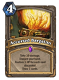 Accursed Bargain Card