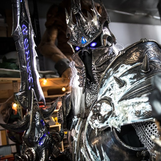 The Making Of The Lich King S Armor Knights Of The