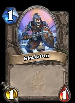 Existing Skeleton