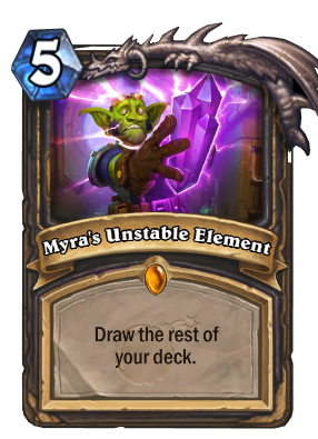 Myra's Unstable Element 666