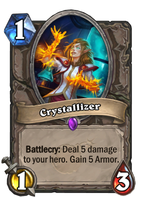 Image result for crystallizer hearthstone