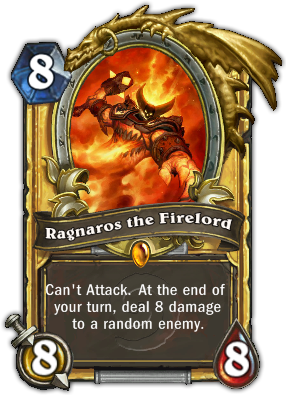 Ragnaros the Firelord - Hearthstone Cards