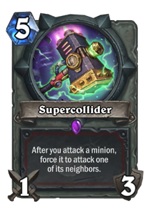 Supercollider Hearthstone Cards