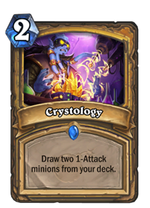 Crystology Hearthstone Cards
